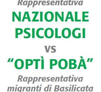 6 e 7 maggio : Il CNOP sceglie Potenza per la Partita della Solidarietà