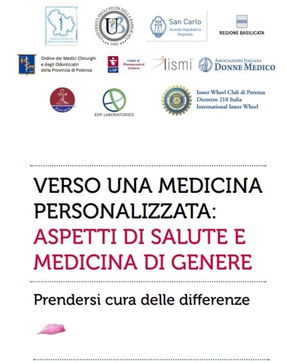 Verso una medicina personalizzata: aspetti di salute e medicina di genere – 8 e 9 giugno 2018