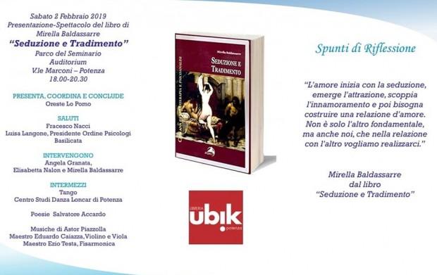 """Presentazione-Spettacolo del libro """"Seduzione e Tradimento"""""""