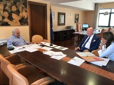 L'Ordine degli Psicologi di Basilicata incontra l'Assessore regionale alla Salute Rocco Leone