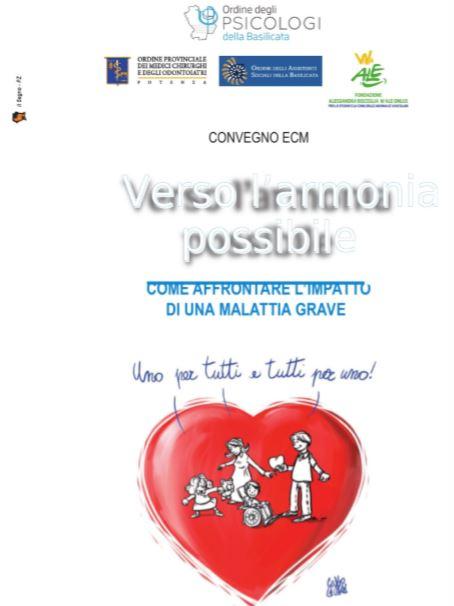 """Convegno """"Verso l'armonia Possibile"""""""