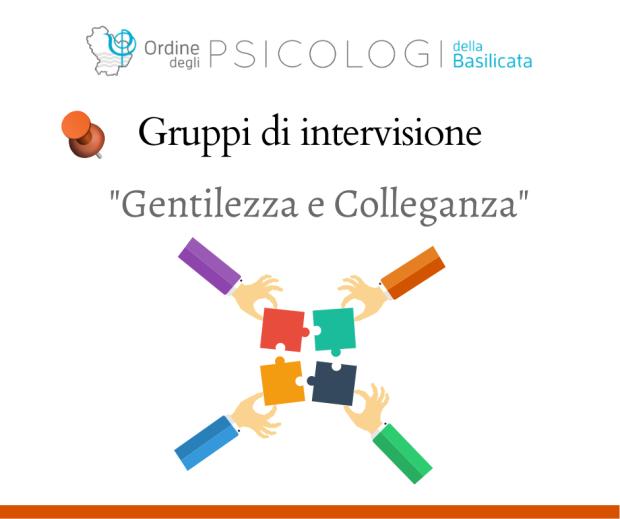 """Gruppo di Intervisione """"Gentilezza e Colleganza"""""""