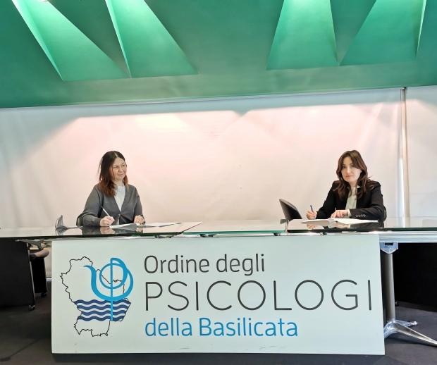 """Patto tra l'Ordine degli Psicologi della Basilicata e Rete """"Potenza Città per le Donne"""""""