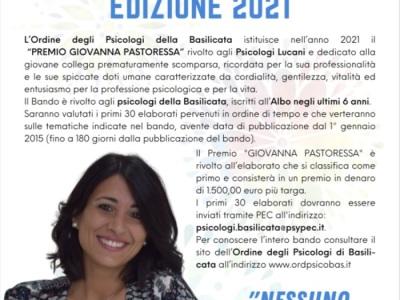 Conferenza Stampa Premio Giovanna Pastoressa